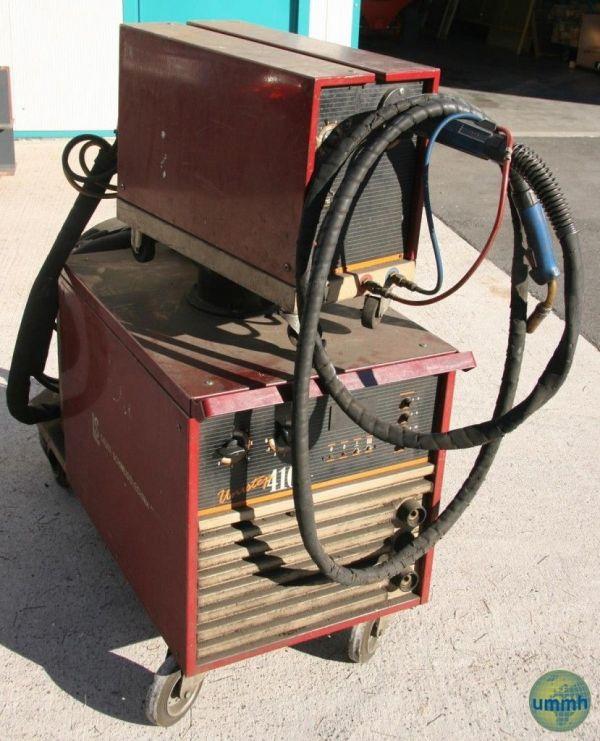 Punktschweißmaschine SAUER UNISTEP 410 1989
