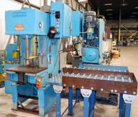 C Frame Hydraulic Press DENISON MULTIPRESS WT-120 M