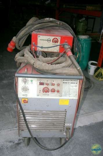 Punktschweißmaschine EUROTRONIC MAG K 5600 W 1992