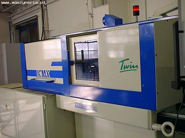 Automat tokarski CNC MANURHIN KMX TWIN 207 2000