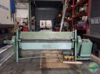 Folding Machines for sheet metal ALBER STAHL ABHE 200/4