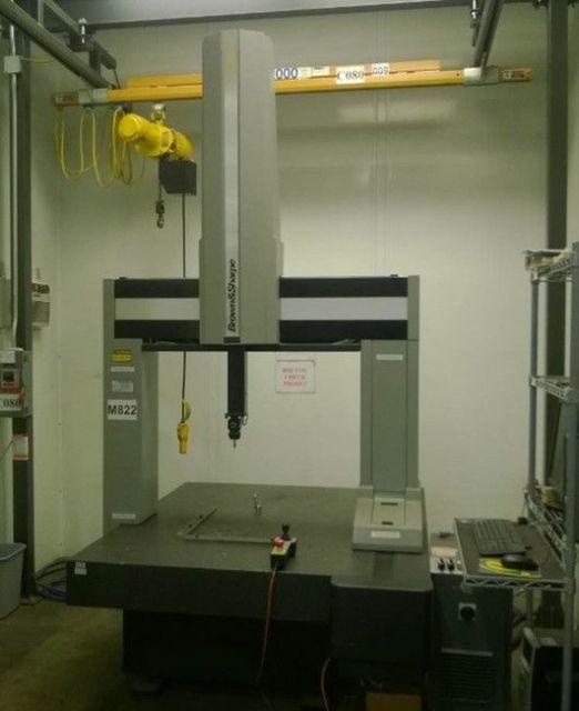 Maszyna pomiarowa BROWN SHARPE EXCEL 9-12-9 2005