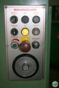 Schwenkbiegemaschine für die Blech SCHRODER MAV II 1984-Bild 4