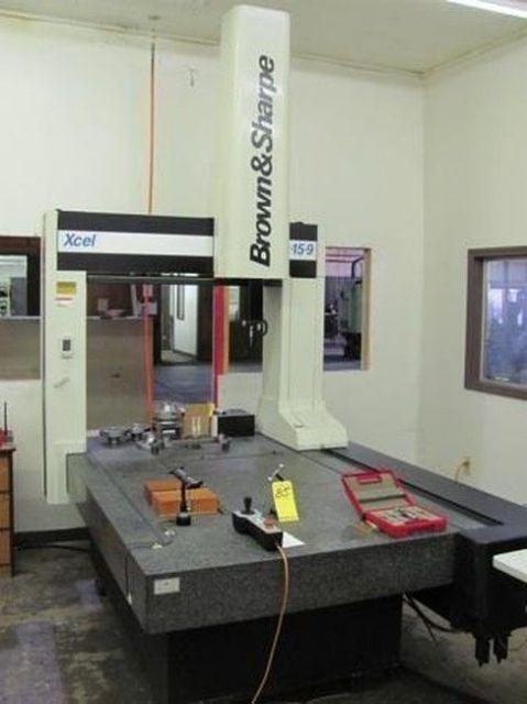 Measuring Machine BROWN SHARPE XCEL 9.15.9 2002