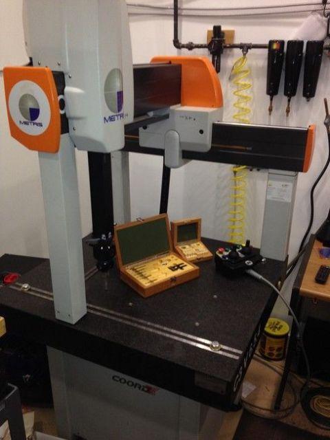 Measuring Machine L K METRIS CORD 3 6.5.4 DCC 2007