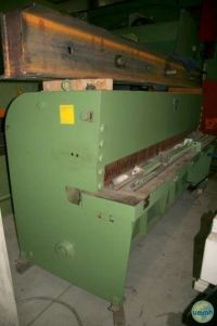 Hydraulic Guillotine Shear BRONSWERK BS 2500X3