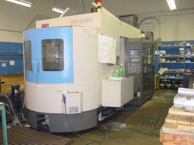 CNC centro de usinagem horizontal TOYODA FA-550 1996