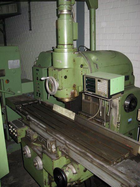 Vertical Milling Machine FRITZ WERNER FV 4 1973