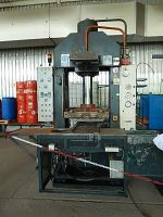 Horizontal Hydraulic Press BUSSMANN Munchen HPK 200/5