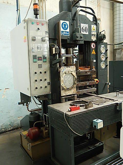 Horizontal Hydraulic Press W. BUSSMANN KG Munchen 100 1965