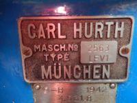 Vertical Milling Machine HURTH LFV 1 1942-Photo 7
