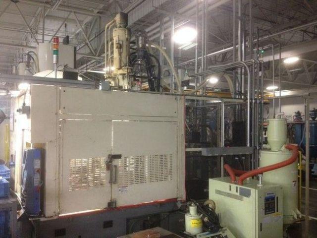 Plastics Injection Molding Machine JSW JT 150 RE II 1998