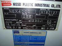 Plastics Injection Molding Machine NISSEI NEX 4000 2005-Photo 6
