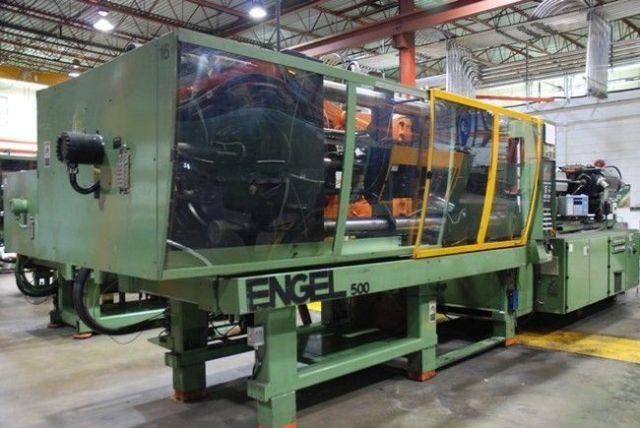 Plastics Injection Molding Machine ENGEL ES 3550/500 1999