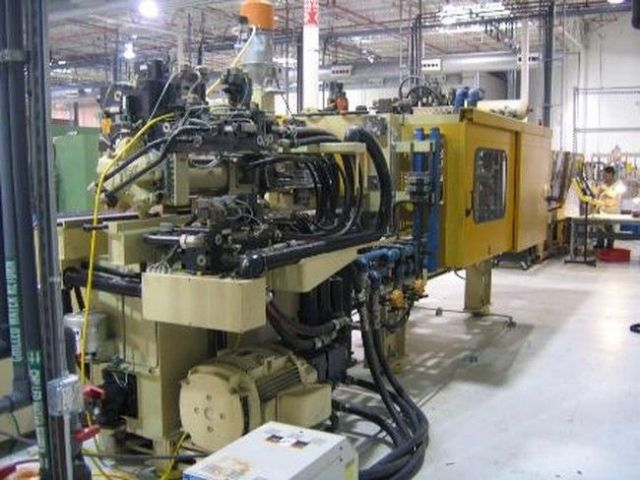 Plastics Injection Molding Machine HUSKY LX 225 RS 42/42 1998