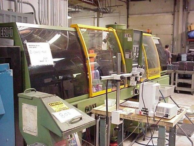 Plastics Injection Molding Machine ENGEL TIEBARLESS ES 200/60 TL 1996