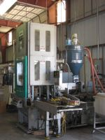 Plastics Injection Molding Machine NEWBURY VERTICAL SHUTTLE 1993-Photo 3