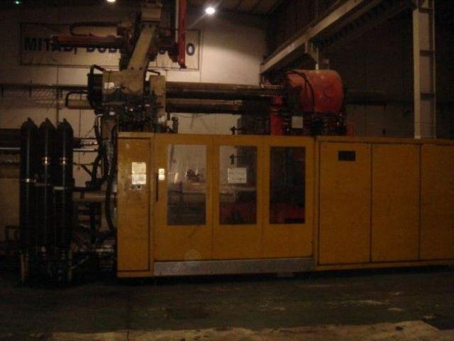 Plastics Injection Molding Machine HUSKY E 2000 RS 170/140 1997