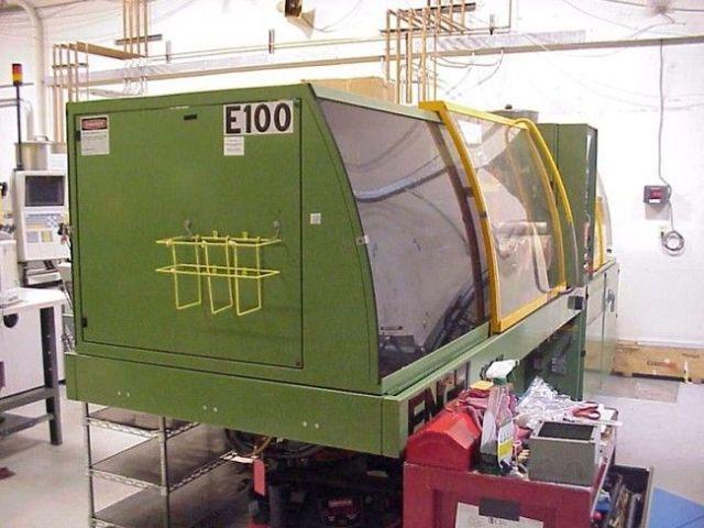 Plastics Injection Molding Machine ENGEL TIE BARLESS 1996