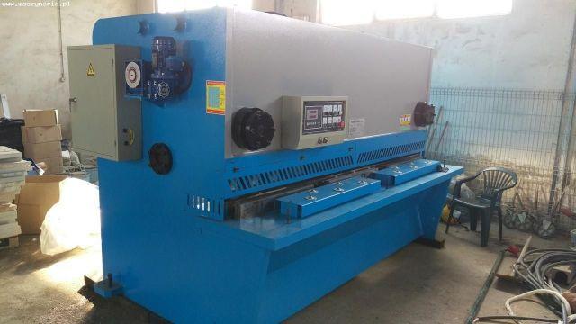 NC Hydraulic Guillotine Shear Jiangsu QC11Y-16x2500 2014
