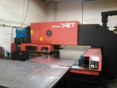 Turret Punch Press AMADA PEGA 357 1994