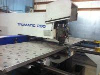 Turret Punch Press TRUMPF TRUMATIC 200