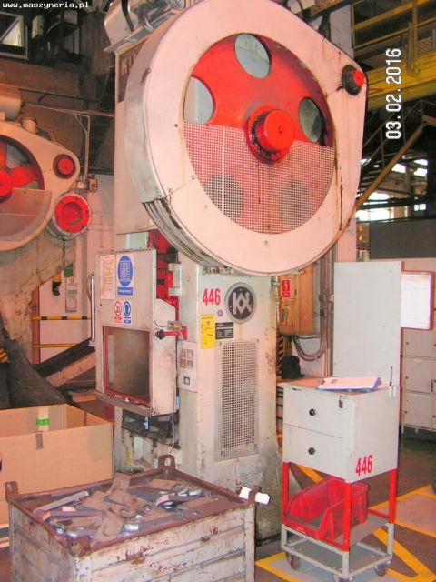 Eccentric Press KIESERLING SOLINGEN KPR 200/630 1957