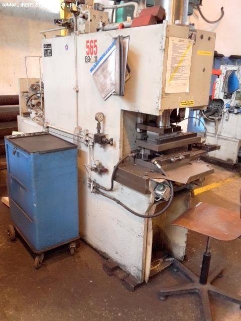 C Frame Hydraulic Press HIRSCH ATTING UMA 50 1988