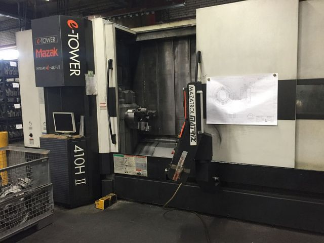 Turning and Milling Center MAZAK Integrex e-410 H-II x 3000 2007