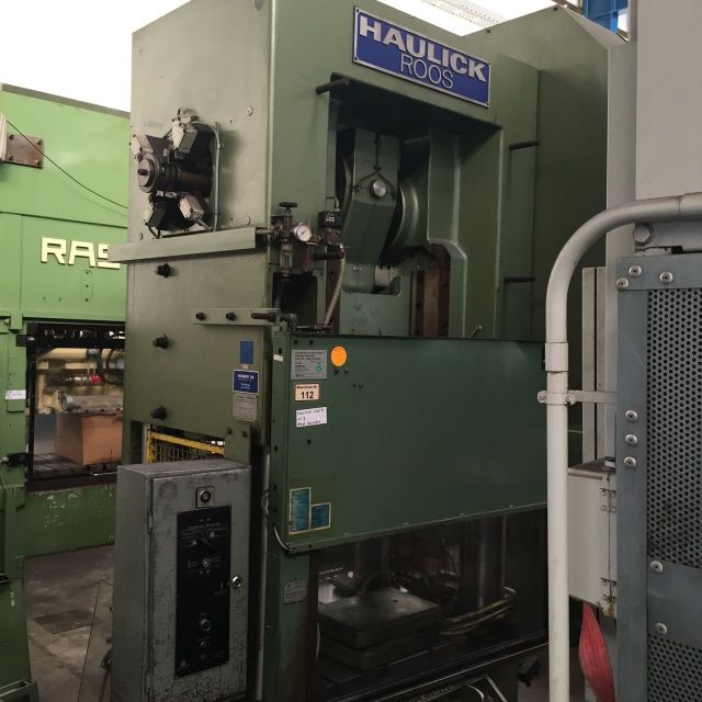 Eccentric Press HAULICK  ROOS RV 125 S 1975