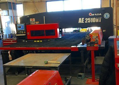 Turret Punch Press AMADA AE2510NT 2010
