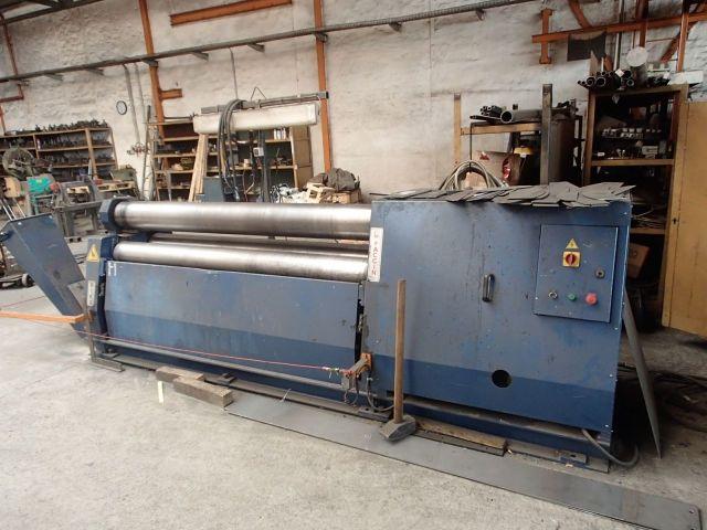 3-Walzen-Blecheinrollmaschine FACCIN DP3 - 2021 2008