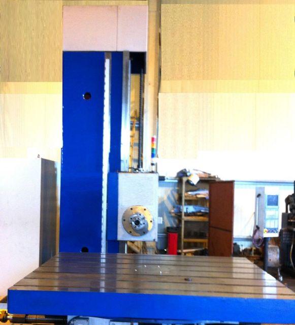 Wytaczarka pozioma TITAN 125 CNC 2011