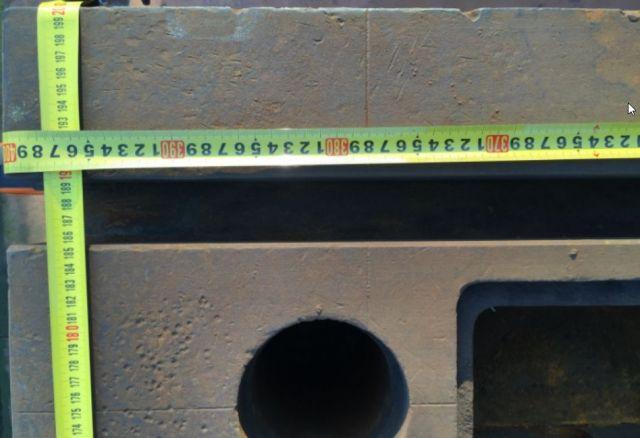 Wytaczarka pozioma Piani in Ghisa  2000 x 4000 mm 2x4 mt 1999