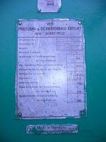 Prasa mimośrodowa VEB ERFURT PEE 250/400 1981-Zdjęcie 3