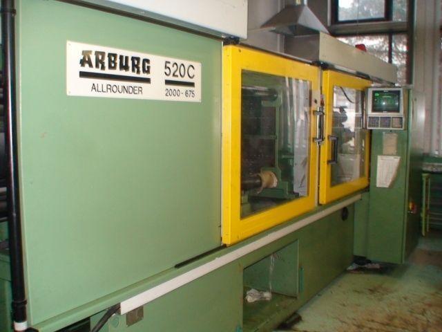 Plastics Injection Molding Machine ARBURG ALLROUNDER 520C 2000 1995