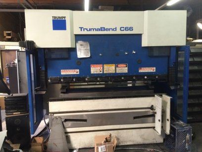 CNC Hydraulic Press Brake TRUMPF C66 2006