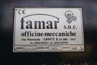 Zwijarka 4-walcowa FAMAR QI 418 - 25/8 1999-Zdjęcie 3
