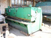 Hydraulische guillotineschaar PLASOMAT NGH 6/3100