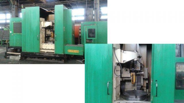 Gear Grinding Machine NILES ZSTZ 08 CNC 1990