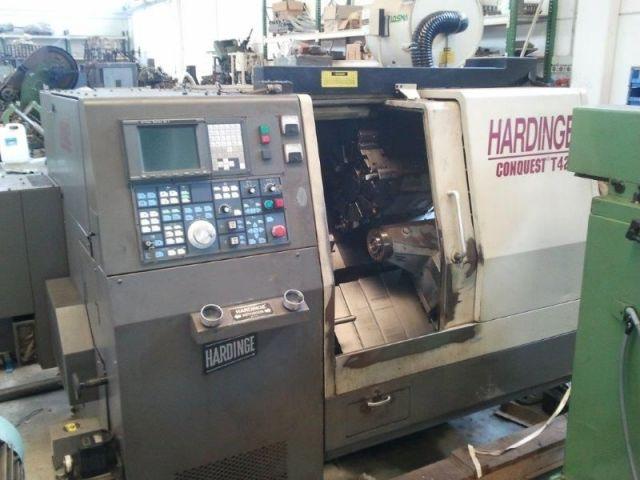 CNC Lathe HARDINGE CONQUEST T 42 1995