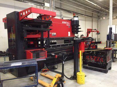 CNC Hydraulic Press Brake AMADA ASTRO II 100NT 2008