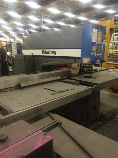Turret Punching Machine with Laser WHITNEY 1548 2009