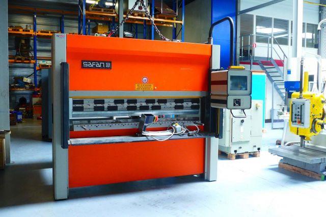 CNC Hydraulic Press Brake Safan SMK-K K40-2050 TS1 1998