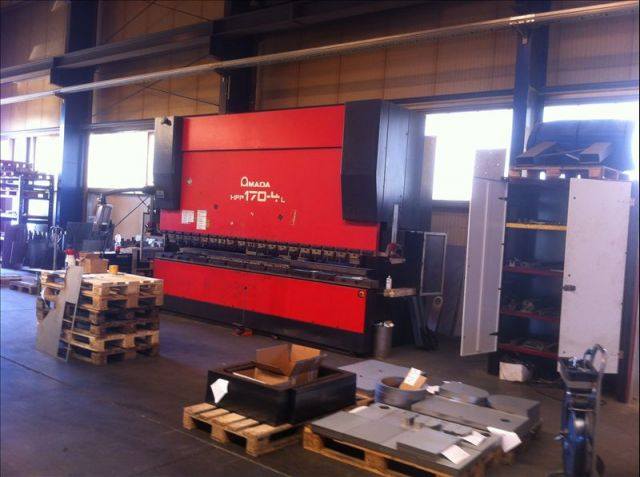 Folding Machines for sheet metal AMADA HFP 170.4 L 2003