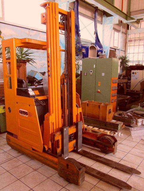 Carga lateral empilhadeira FIAT  -  PIMESPO THESI  16 / 6050 1993