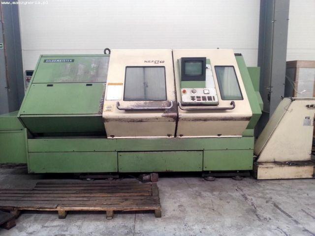 CNC Lathe Gildemeister NEF CT-60 1986