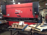 CNC Hydraulic Press Brake AMADA No. HFE-1704S/7