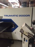Turret Punching Machine with Laser TRUMPF TC2000R BOSCH 1999-Photo 2