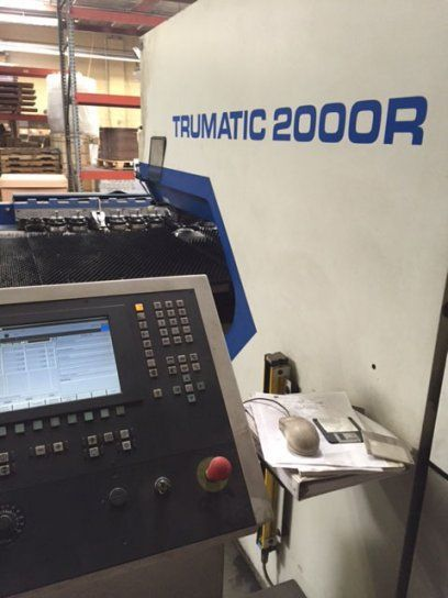 Turret Punching Machine with Laser TRUMPF TC2000R BOSCH 1999